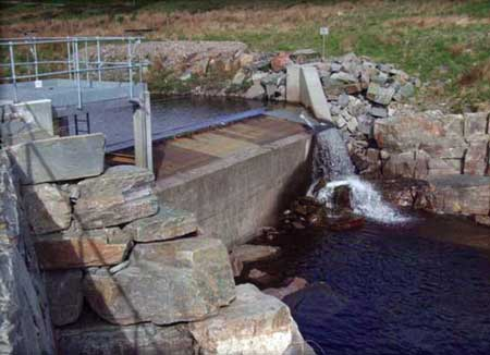 A review of green energy support schemes in Scotland may lead to an increase in development of small hydro projects, such as the one pictured here.