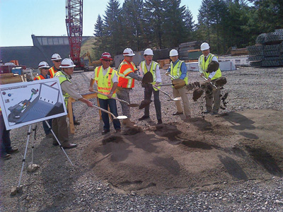 Ground was broken in August on construction of the 7.5-MW Dorena Lake project at an existing U.S. Army Corps of Engineers dam.