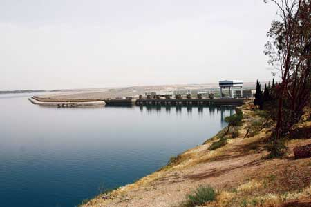 Tabqa Dam on the Euphrates River in Syria was reportedly taken over by rebels in February, along with the 824 MW powerhouse and the lake the dam impounds.