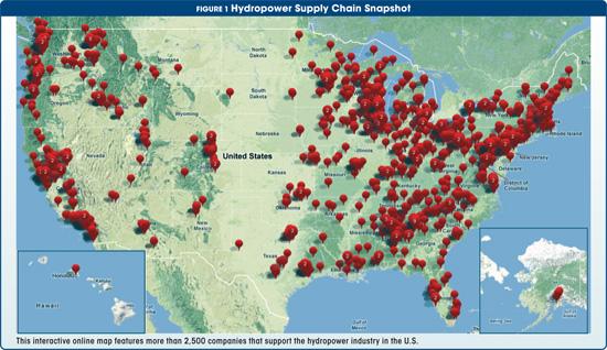 hydropower supply chain snapshot