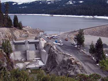 The widened spillway at L.L. Anderson Dam has enhanced downstream safety by reducing the risk of catastrophic flooding.