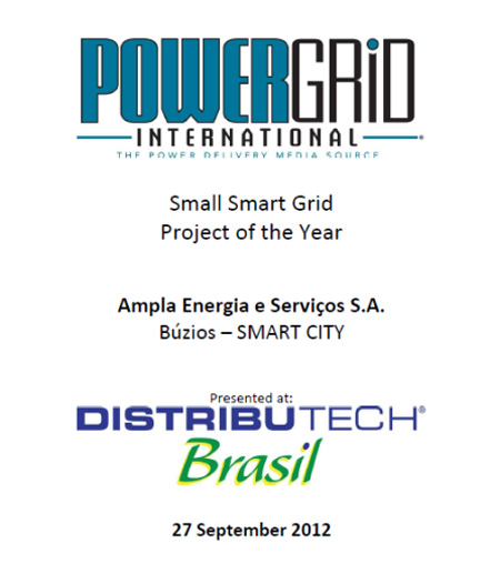 Small Smart Grid Project of the Year