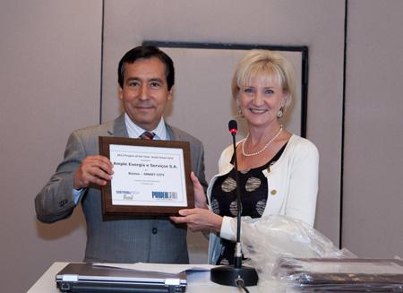 Ampla Energia e Serviços S.A. accepts the award
