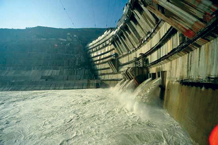 In China, the 13,860 MW Xiluodu hydropower project