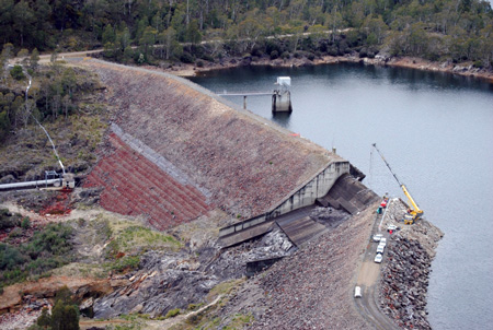 Hydro Tasmania's Rowallan Dam,