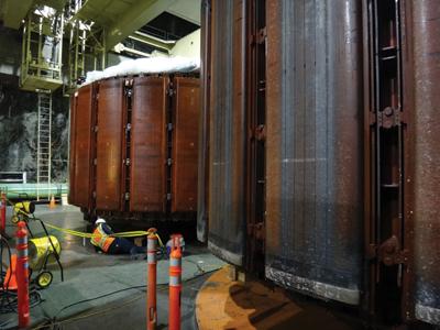 three units at the 1,212-MW Helms pumped-storage plant