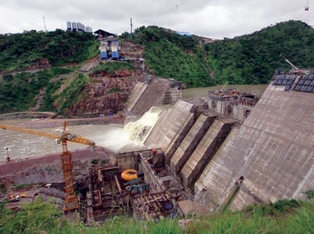 A 399 MW powerhouse at the newly constructed Bui Dam began operating in December. The project is intended to help alleviate energy deficiencies in Ghana.