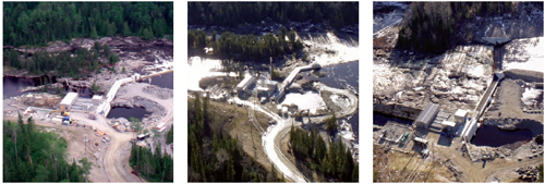 Construction of the hydro facilities brought new jobs, revenue and reliable power to the surrounding communities, in addition to supporting the local economy.