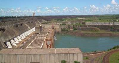 Itaipu Hydroelectric Plant