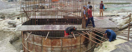 The 140 MW Tanahu pumped-storage project is being built in Nepal.