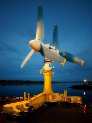 Atlantis Resources Tidal Turbine
