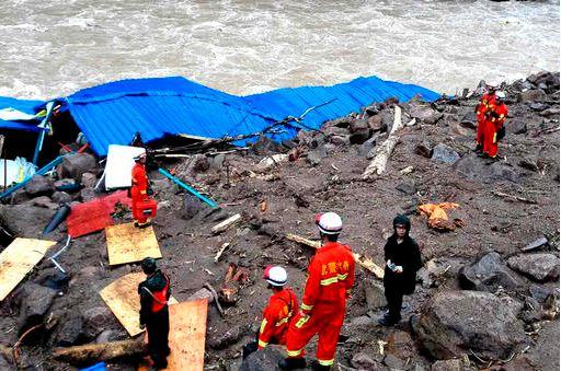 Chitan Hydropower Plant Landslide