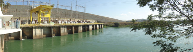 The 66 MW Tres Marias hydroelectric plant, where this study was conducted, is on the Sao Francisco River in southeastern Brazil.