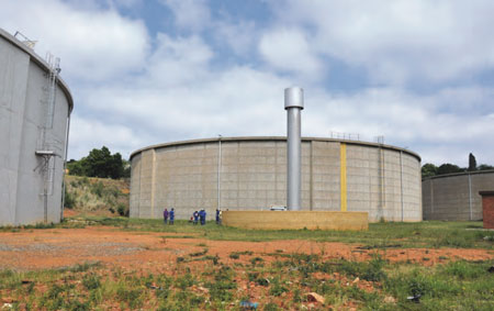 A primary consideration is determining whether a site could accomodate a hydropower plant. Open space at Garsfontein Reservoir, which supplies the eastern Tshwane metropolitan area, helps make it attractive.