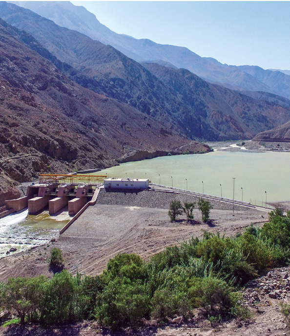 The 174.2-MW Cheves hydropower plant on the Huaura River near Lima, Peru, is owned by Statkraft. (Photo courtesy of Statkraft)