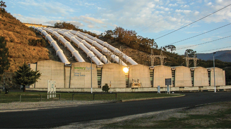"""Snowy Hydro's 1,800-MW Tumut 3 Power Station is one of nine that could receive upgrades under the """"Snowy 2.0"""" initiative, which looks to increase the capacity of pumped storage projects in the Snowy Mountain scheme by about 50%."""