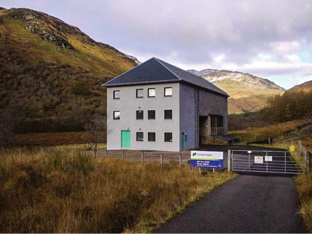 The 6-MW Allt-na-Lairige hydroelectric power station, on the Fyne River near Inverary in Scotland, recently underwent a complete overhaul.