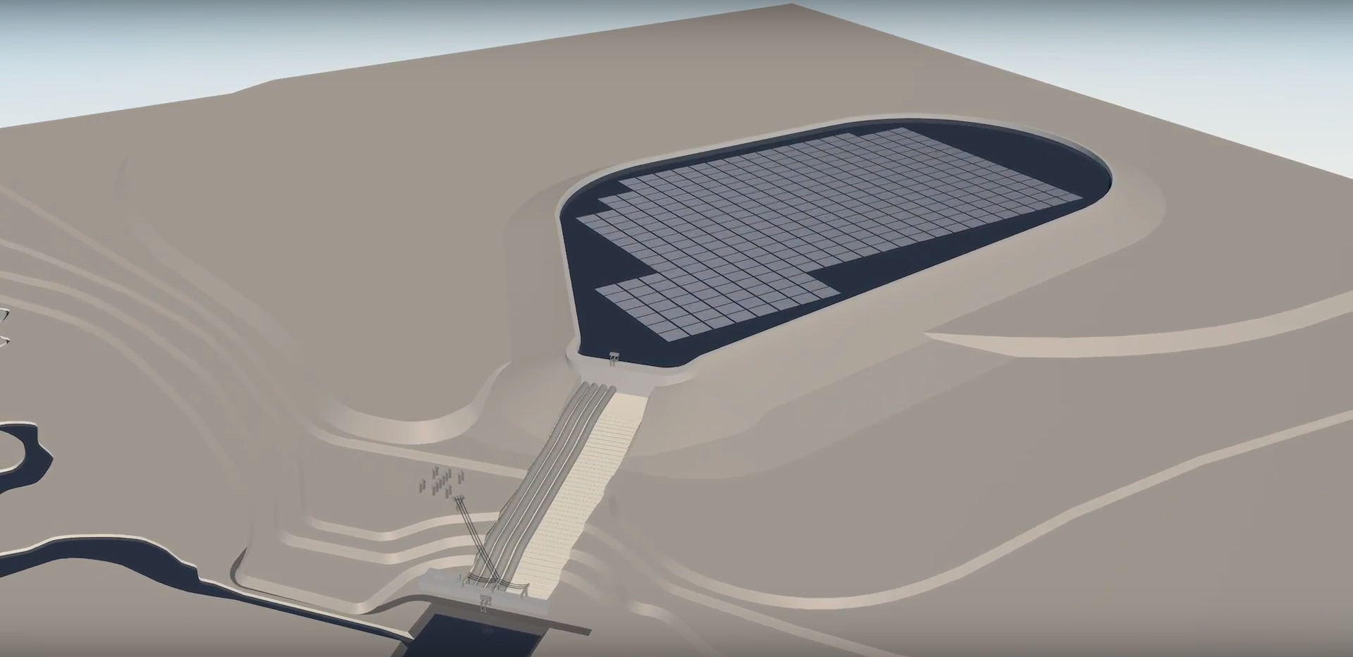 Floating solar photovoltaic plant to be installed at Kruonis pumped-storage plant in Lithuania