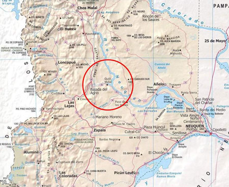 Chihuido hydroelectric
