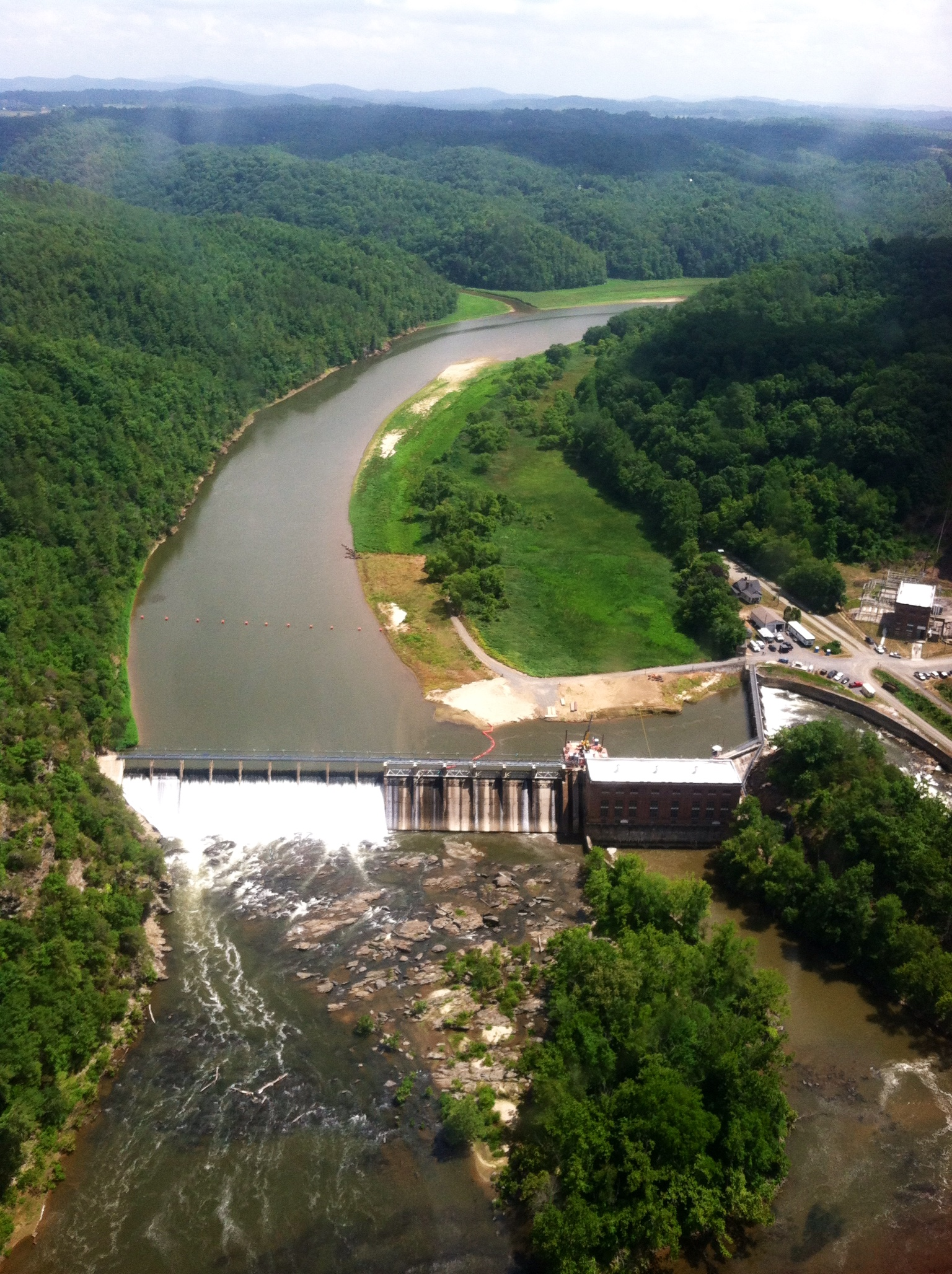 Byllesby hydro plant