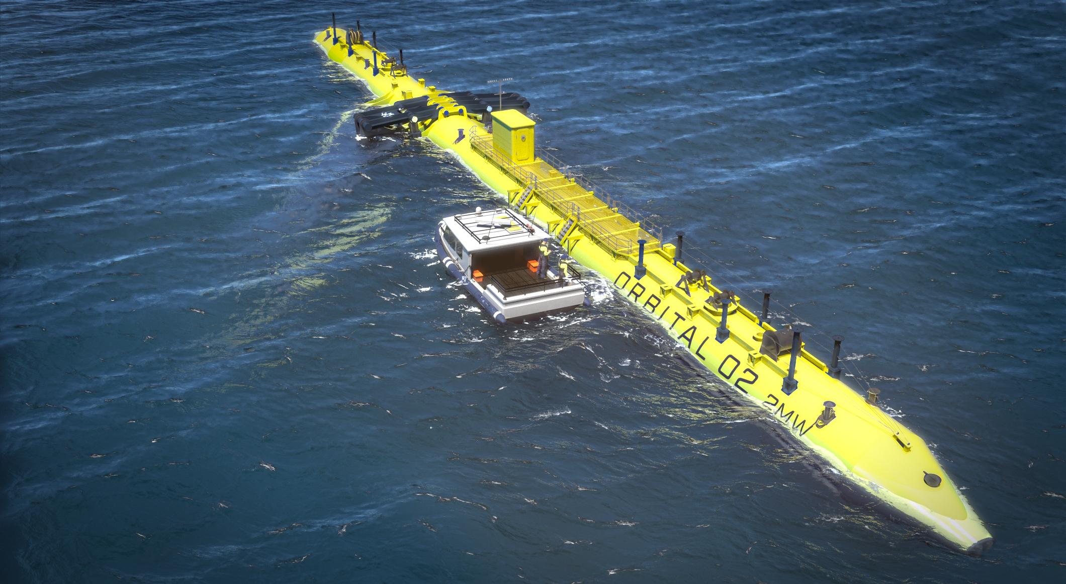 Orbital Marine turbine