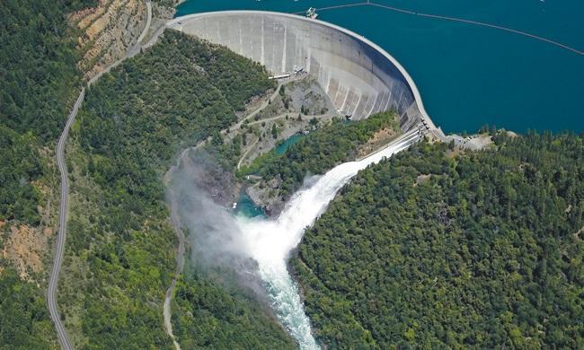New Bullards Bar Dam and Reservoir