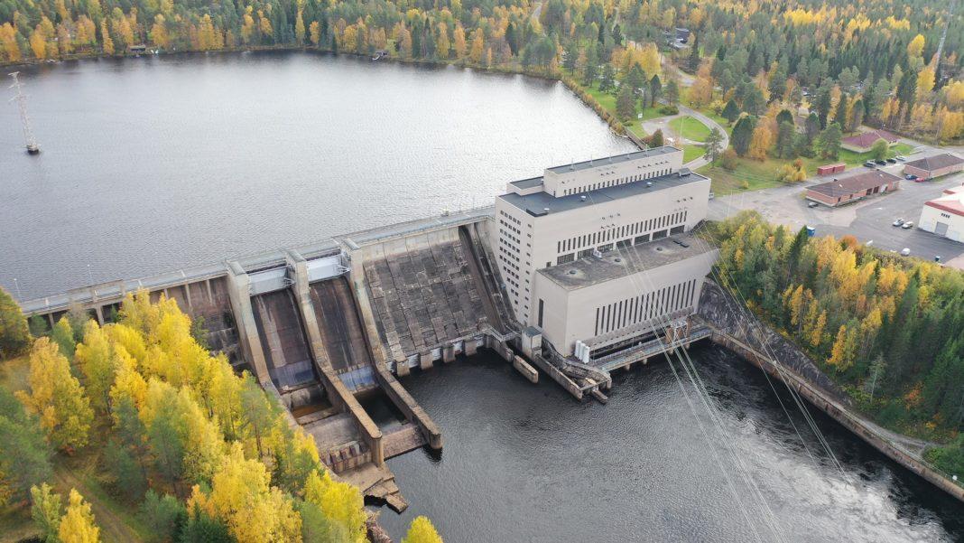 Fortum hydro plant
