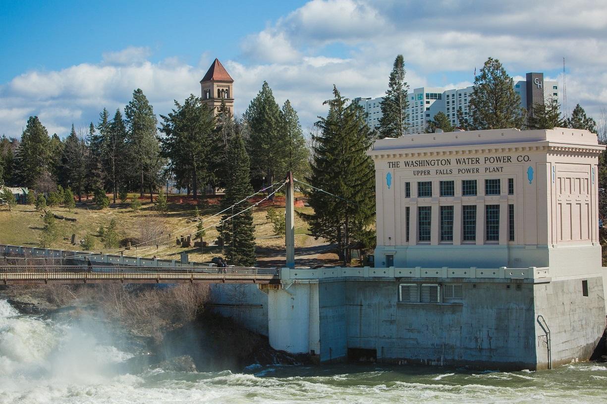 Upper Falls hydro
