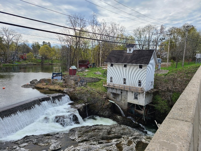 Valatie Falls hydro