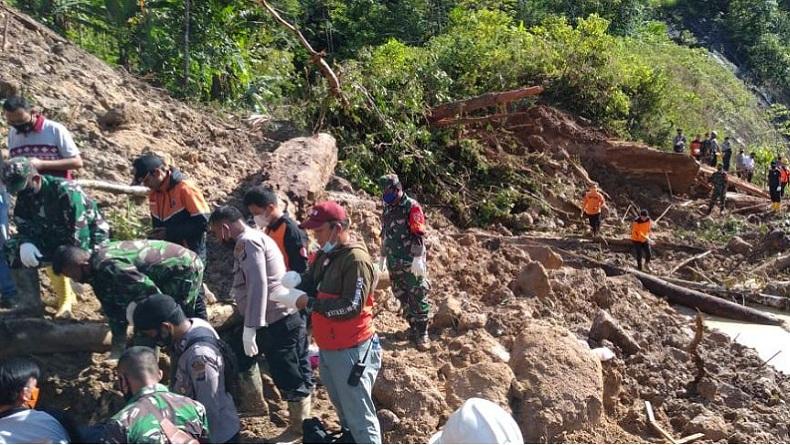 Batang Toru landslide