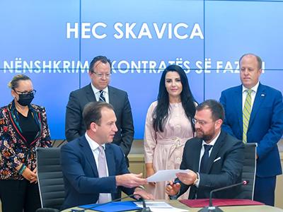 Skavica contract
