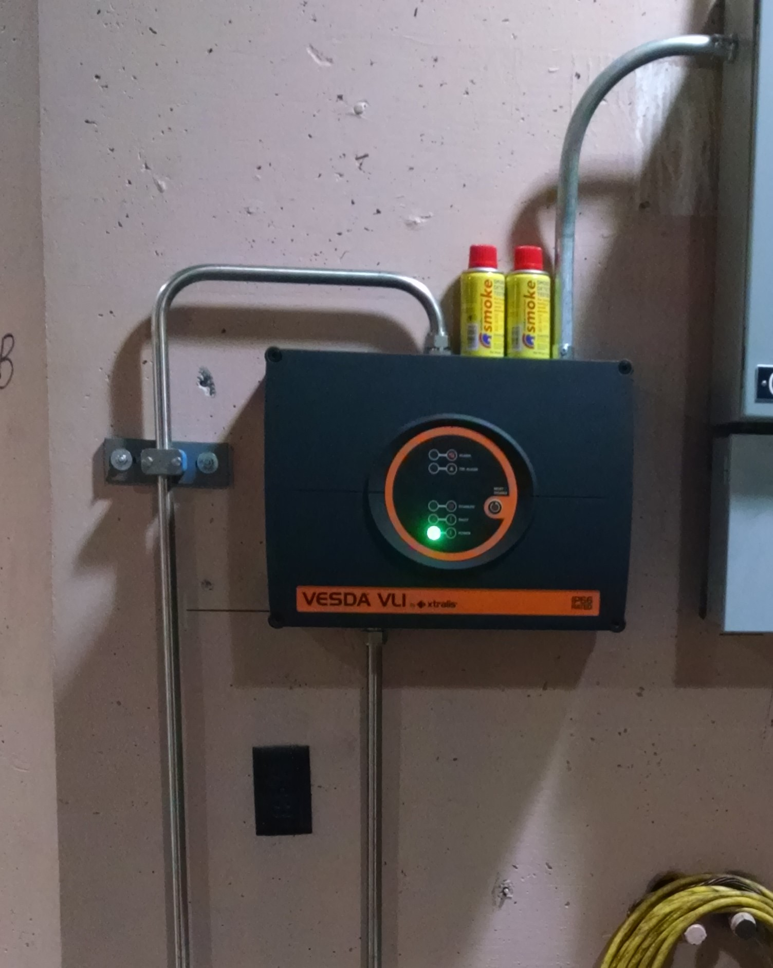 Generator fire protection
