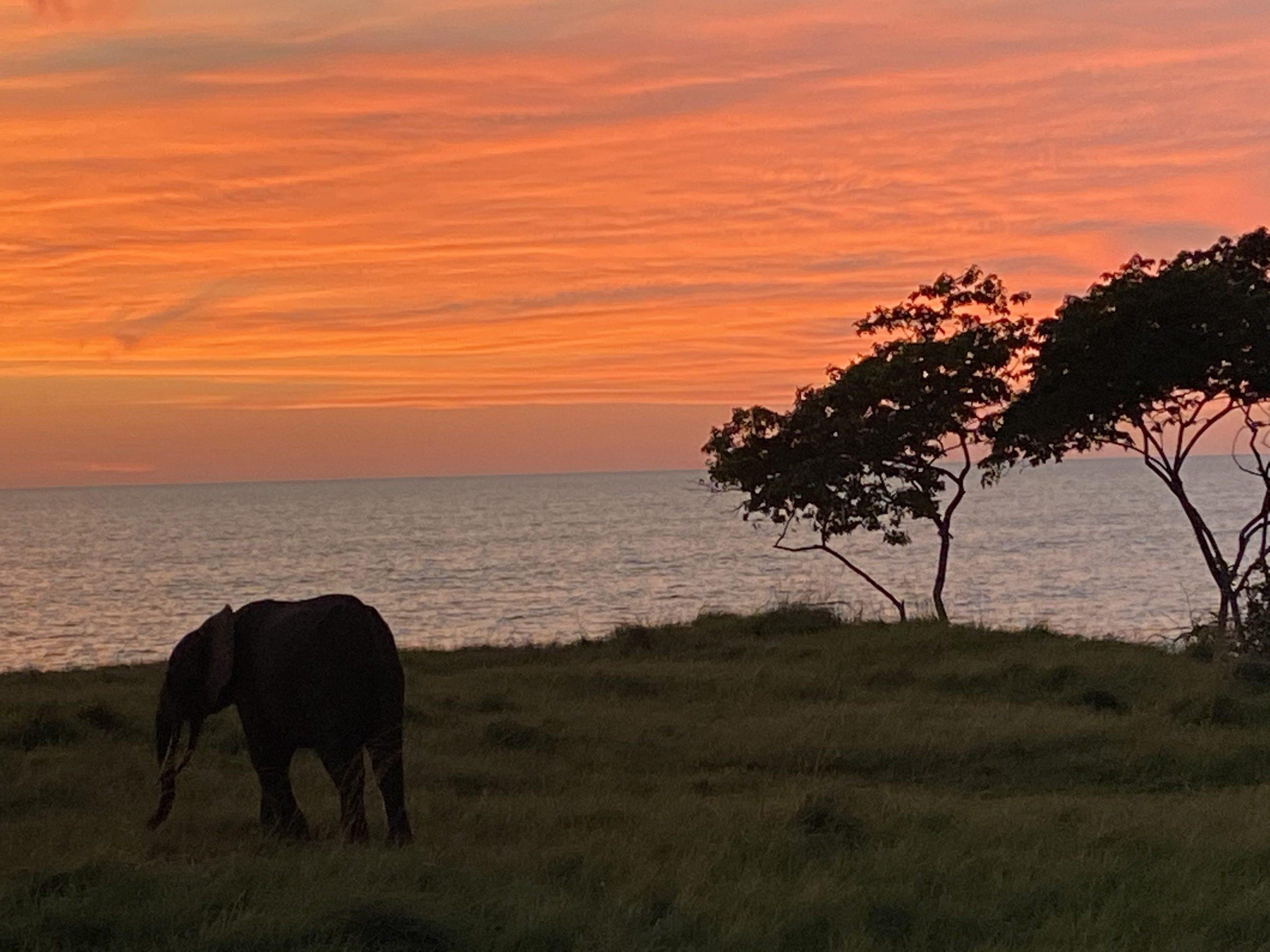 Gabon sunset